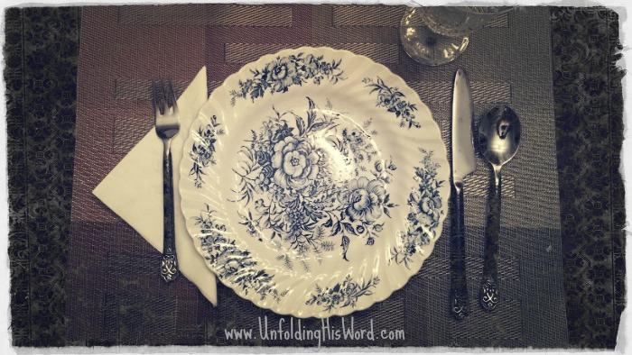 A Mephibosheth Dinner Invitation