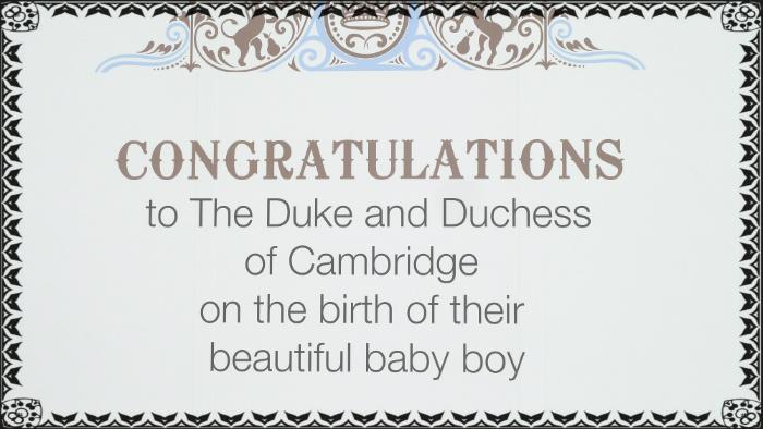 A Royal Baby