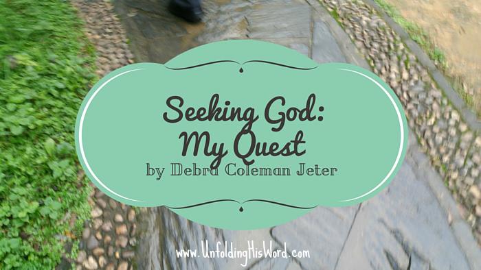 Seeking God: My Quest